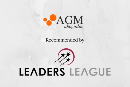 AGM Abogados is once again recognised by the portal Leaders League